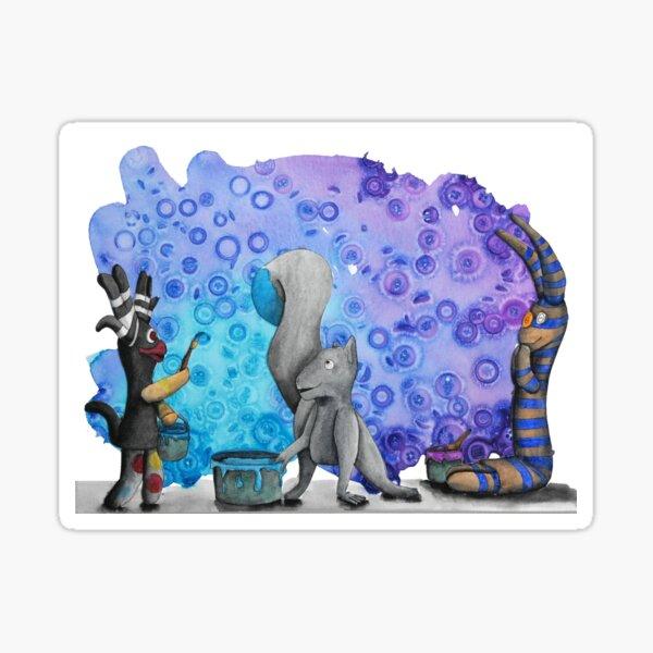 Painting Fun Sticker