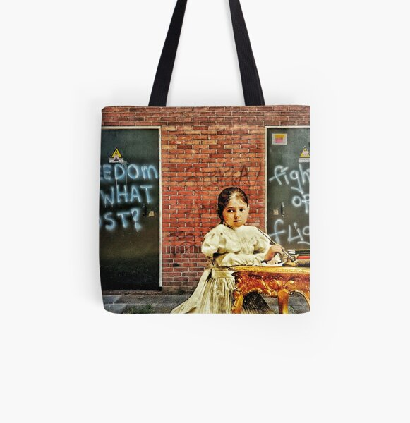 Fight or flight All Over Print Tote Bag