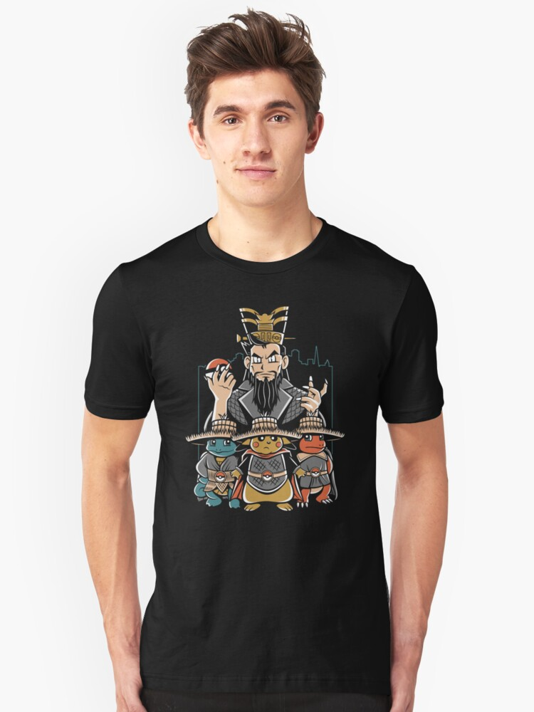Big Trouble in Little Kanto Unisex T-Shirt Front