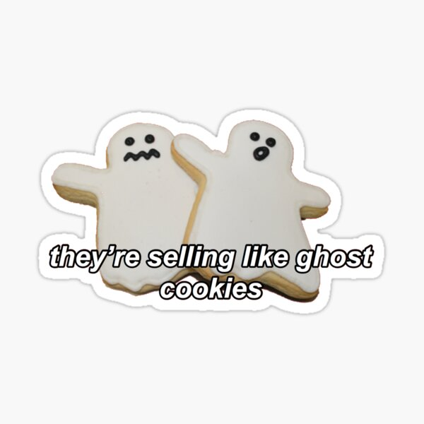 """they're selling like ghost cookies"" Alex Turner Sticker"