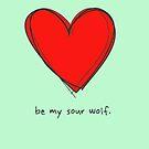 Be My Sour Wolf - Sterek / Teen Wolf Valentine by fangeek