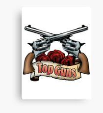 Top Guns Canvas Print