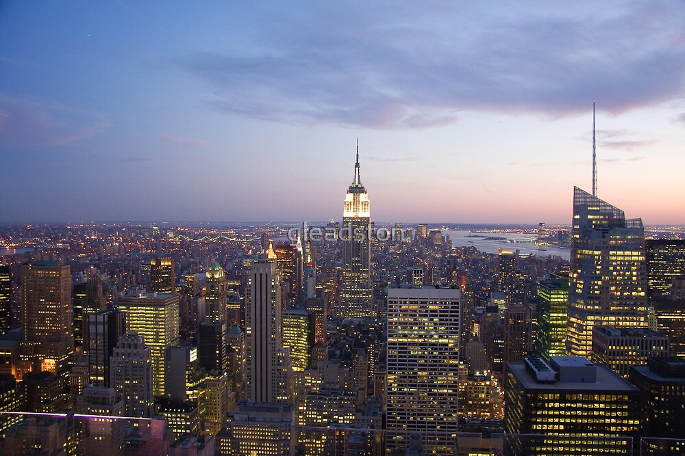 New York Sunset by gleadston