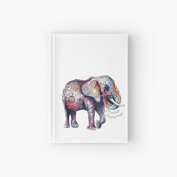 Kristins Flower of Friendship Elephant Hardcover Journal