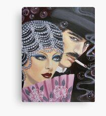 ART DECO COUPLE Canvas Print