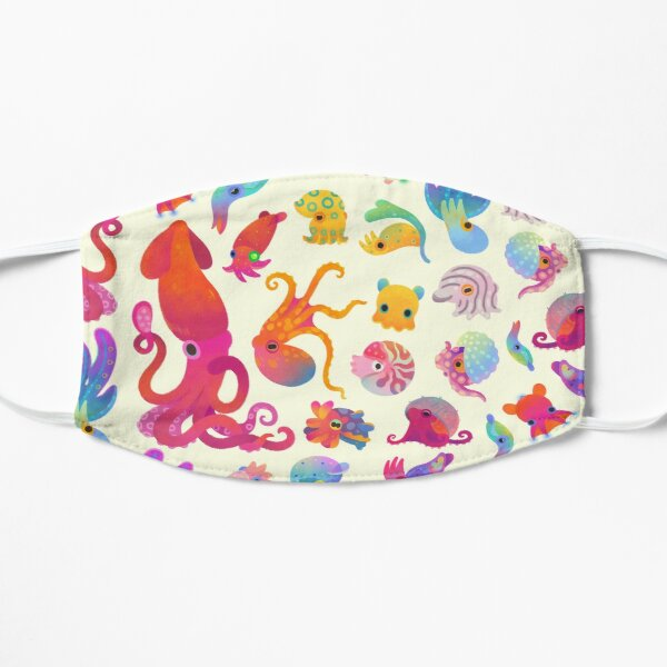 Cephalopod - pastel Mask