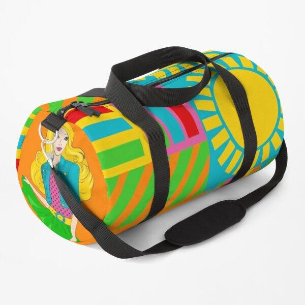 kitsch pattern Duffle Bag