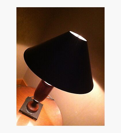 My life as a lamp. Photographic Print