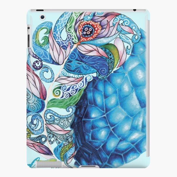Elemental Patterns Wind and Ice iPad Snap Case