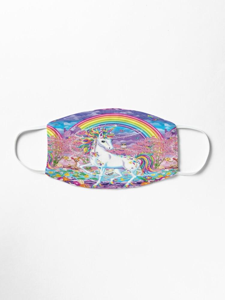Alternate view of Unicorns Horse Magical Art Mask