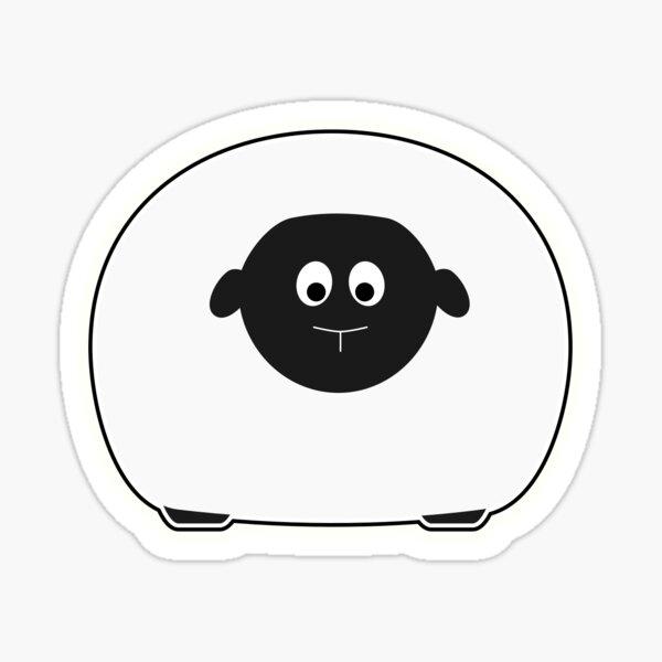 Beep Sheep Sticker