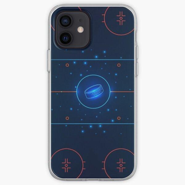 Patinoire de hockey Coque souple iPhone