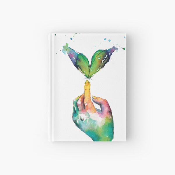 Touching a Butterfly Wish Hardcover Journal