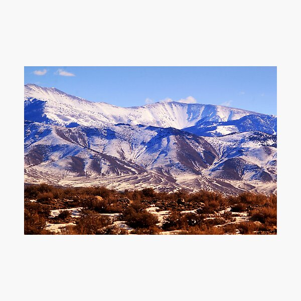 Spring Thaw - High Schells Photographic Print