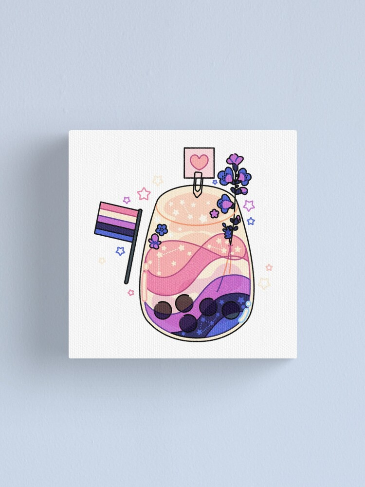 Alternate view of Gender fluid cocktail Canvas Print