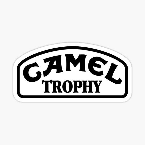 Camel Trophy Noir Sticker