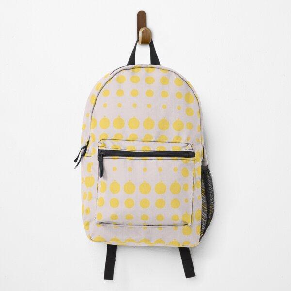 BackPack- Orange Circles Backpack