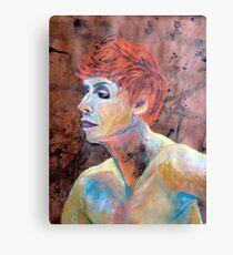 Female Face Canvas Print