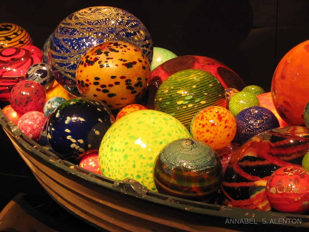 BOAT FULL OF GLASS by ANNABEL   S. ALENTON