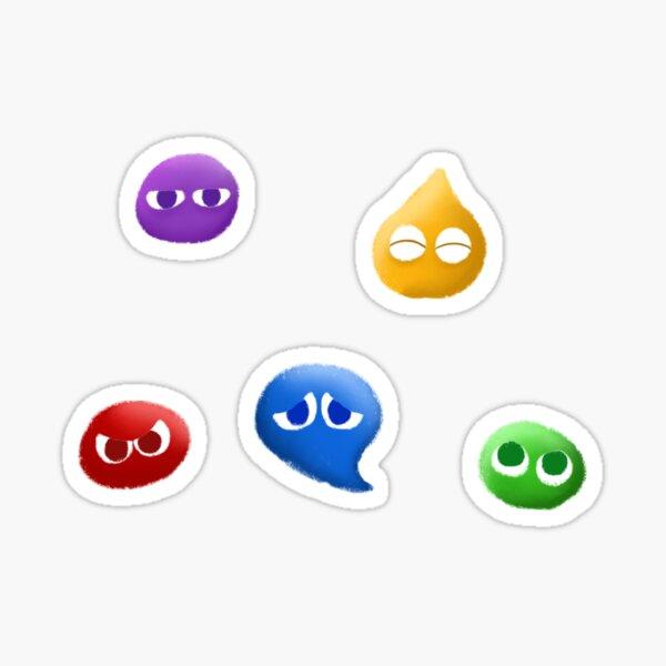Puyos Sticker