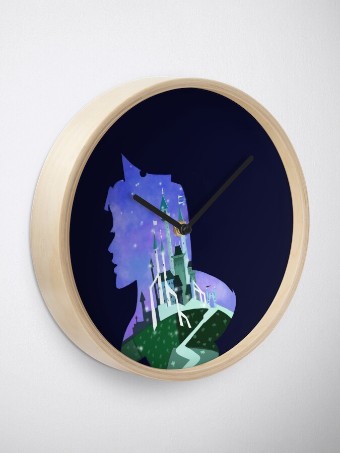 Alternate view of Sleeping beauty  Clock