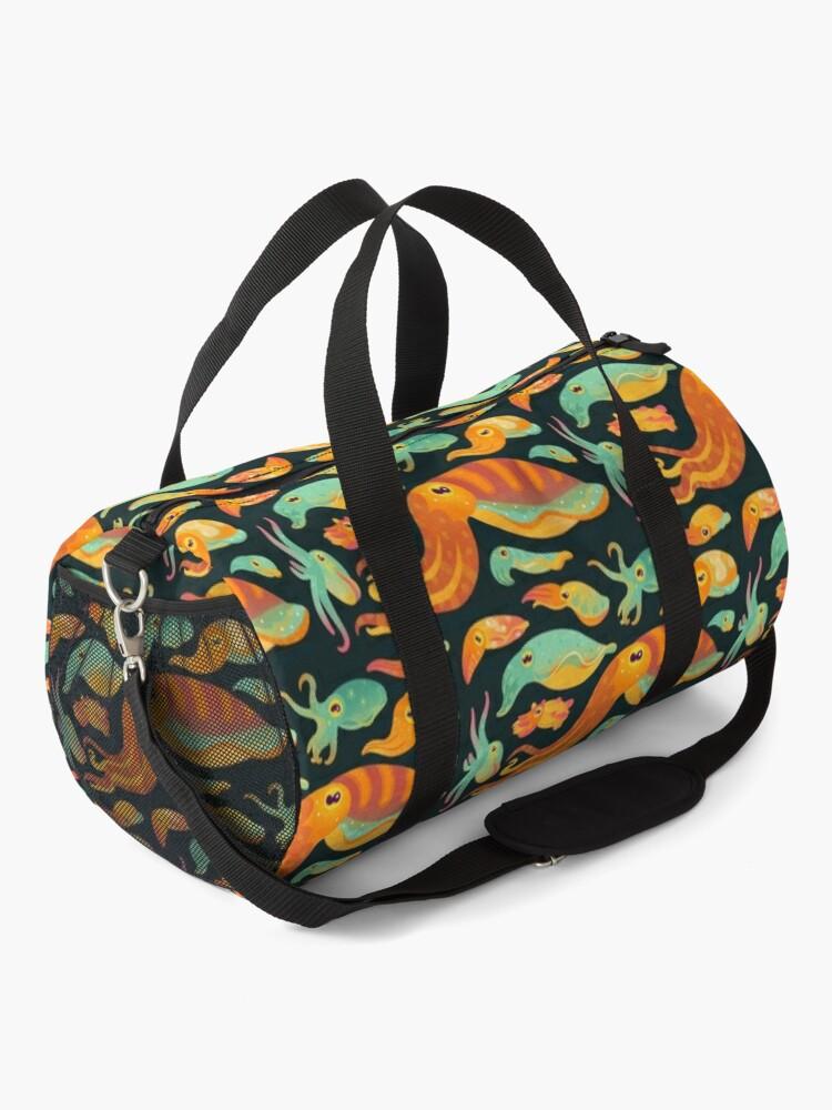 Alternate view of Cuttlefish - dark Duffle Bag