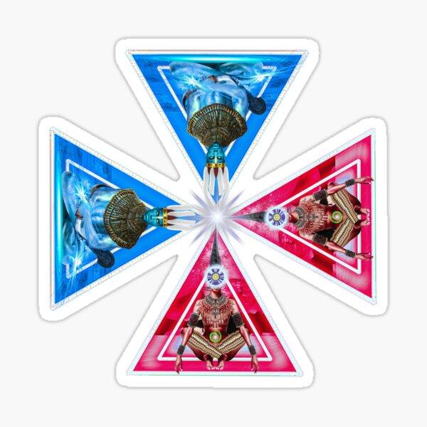 African Spirituality: EKENACHI By SIRIUS-UGO-ART Sticker