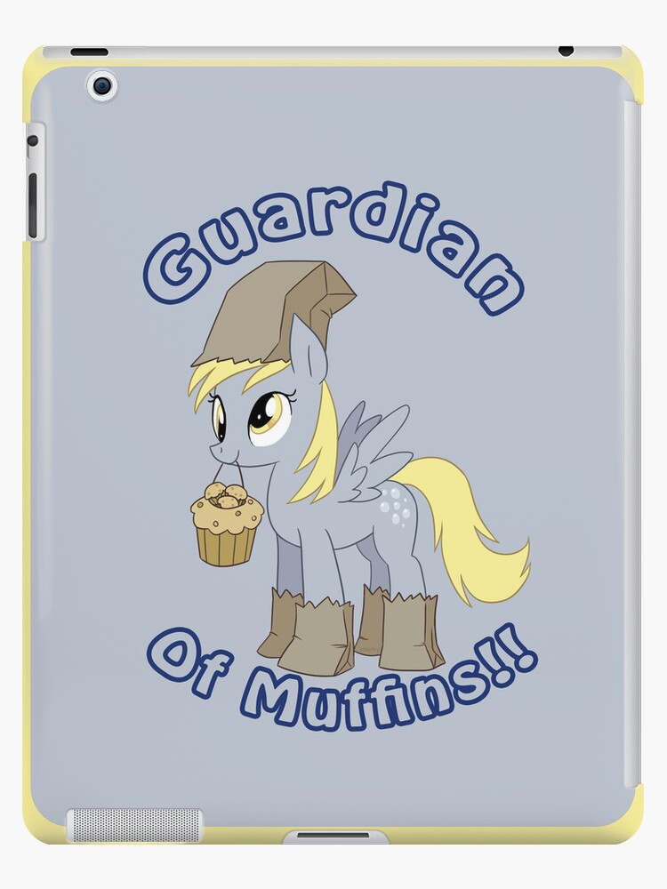 Derpy: Guardian of Muffins iPad Case by Geek-Spirations