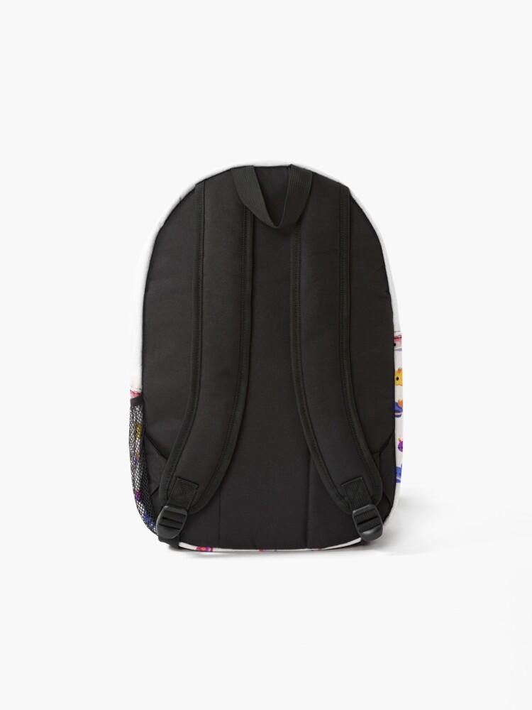 Alternate view of Sea Slug Day - bright Backpack