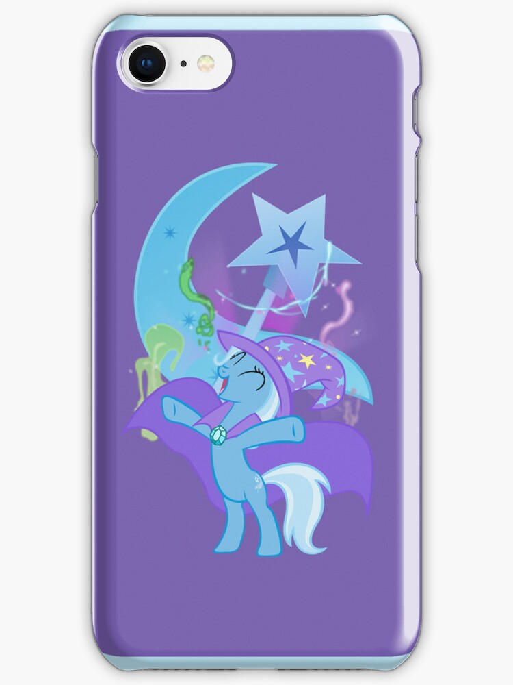 The Great and Powerful Trixie iphone Case by Geek-Spirations