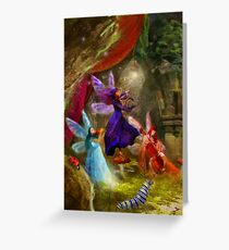 Dancing Auroras - Charmed Melodies Greeting Card