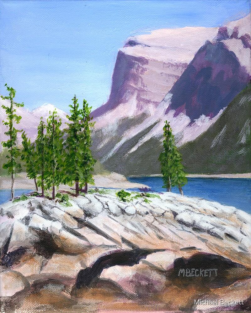 Lake Minnewanka by Michael Beckett