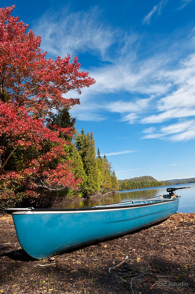 Kayak in Autumn by 3523studio