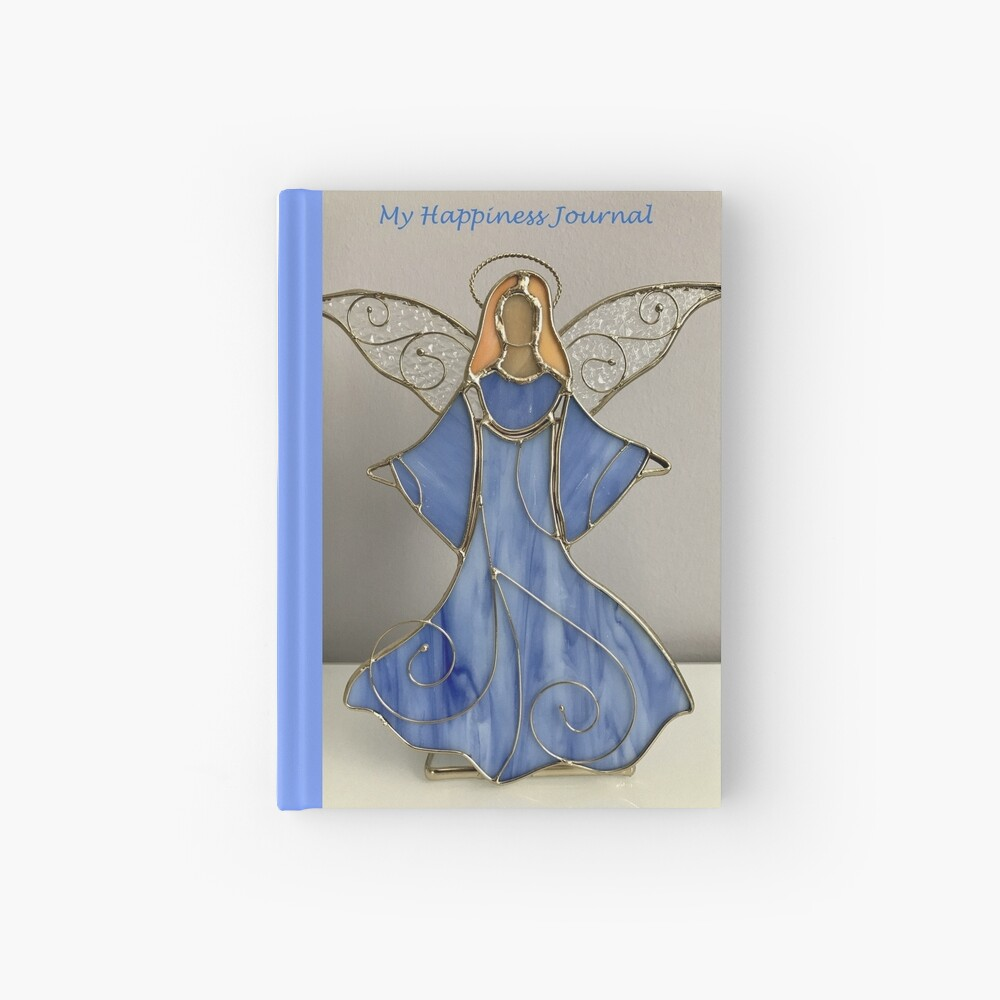 Happiness Journal Decorative Angel Hardcover Journal
