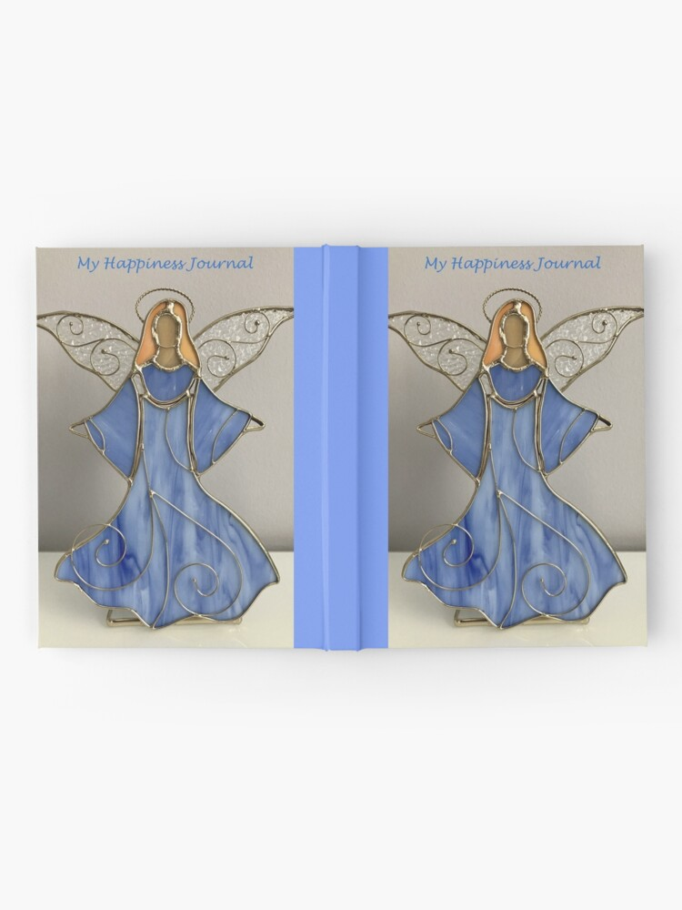 Alternate view of Happiness Journal Decorative Angel Hardcover Journal