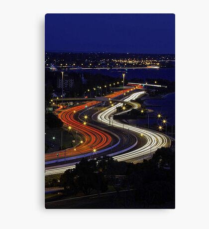 Kwinana Freeway - Western Australia  Canvas Print
