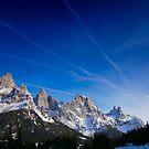 Le pale di San Martino al tramonto by Andrea Rapisarda