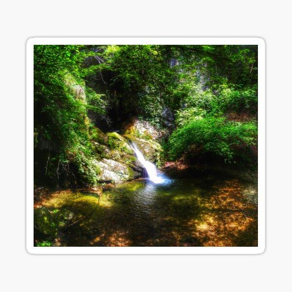 Hidden Waterfall Sticker