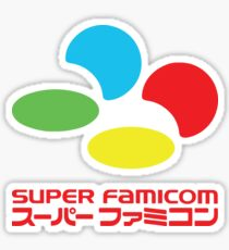 Super Famicom Sticker