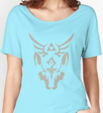 Wolf Link Blue Eyed Beast Women's Relaxed Fit T-Shirt