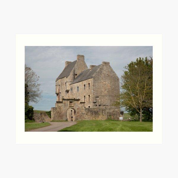 Midhope Castle , Edinburgh 2411 Art Print