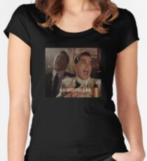Goodfellas Laughing  Women's Fitted Scoop T-Shirt