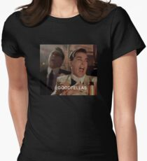 Goodfellas Laughing  Women's Fitted T-Shirt