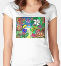 Floradise Women's Fitted Scoop T-Shirt