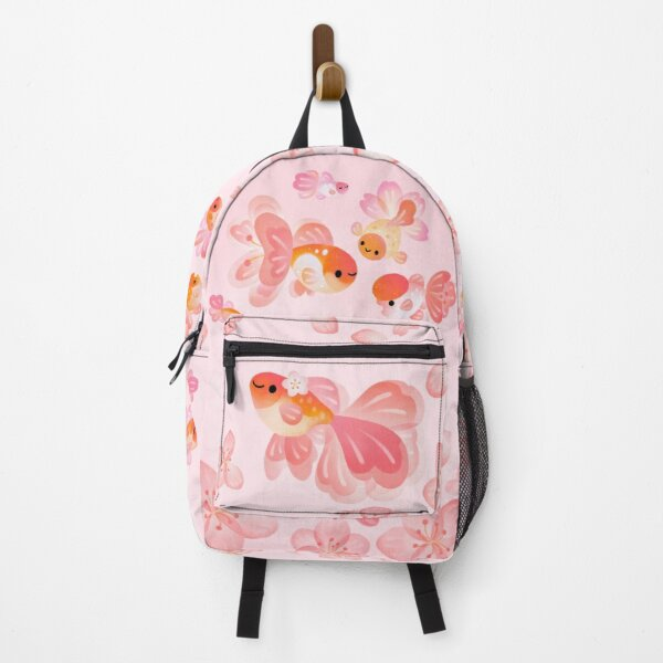 Cherry Blossom Goldfish 2 Backpack