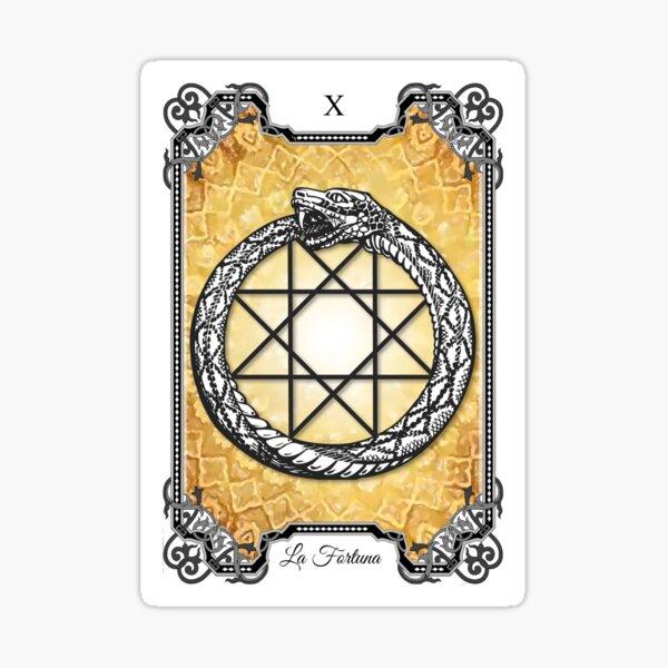 X - La Fortuna (X - The Fortune) Sticker