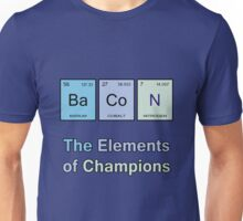 Bacon, The Elements of Champions Unisex T-Shirt