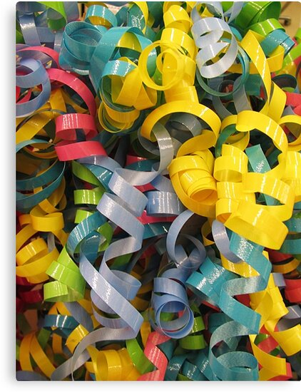 Explosion in a Ribbon Factory by Monnie Ryan
