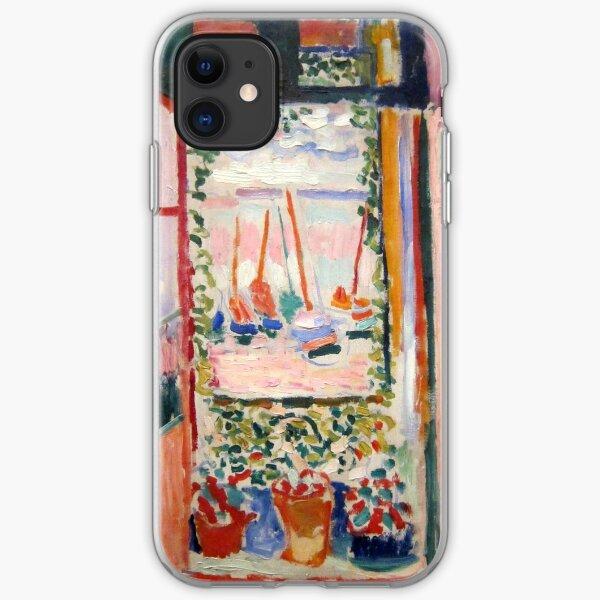 The Open Window- Henri Matisse iPhone Soft Case