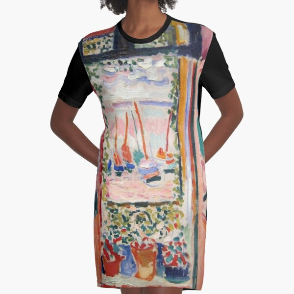 The Open Window- Henri Matisse Graphic T-Shirt Dress
